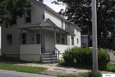 Gloversville NY Multi Family Home For Sale: $44,900
