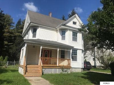 Gloversville Single Family Home Deposit: 63 E Eighth Ave