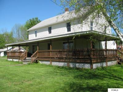 Mayfield Single Family Home For Sale: 133 Bushnell Rd