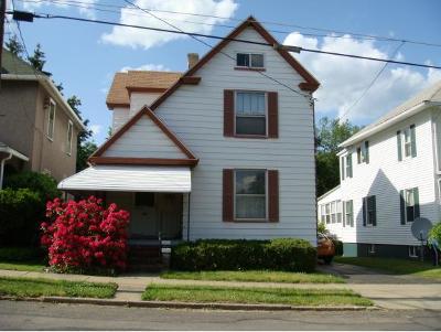 Binghamton NY Single Family Home For Sale: $74,900