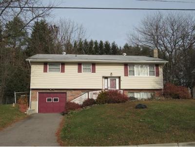 Endicott NY Single Family Home For Sale: $144,000