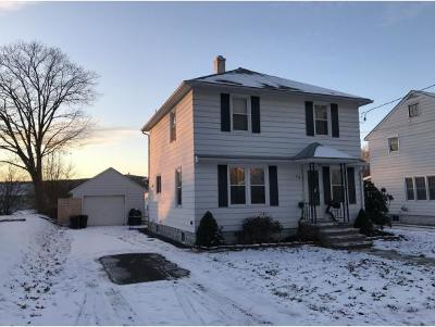 Endicott NY Single Family Home For Sale: $128,900