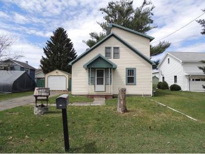 Endicott NY Single Family Home For Sale: $97,500