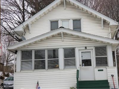 Binghamton NY Single Family Home For Sale: $68,000