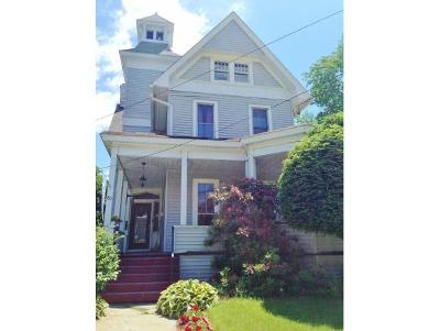 Broome County, Cayuga County, Chenango County, Cortland County, Delaware County, Tioga County, Tompkins County Single Family Home For Sale: 80 Chestnut Street