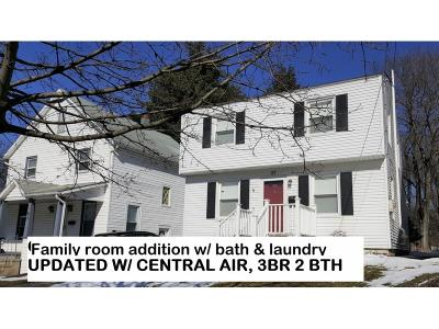 Johnson City NY Single Family Home For Sale: $112,000