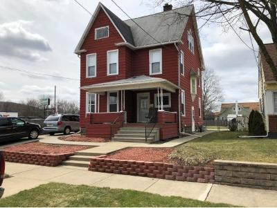 Broome County, Cayuga County, Chenango County, Cortland County, Delaware County, Tioga County, Tompkins County Single Family Home For Sale: 3 Mason Avenue