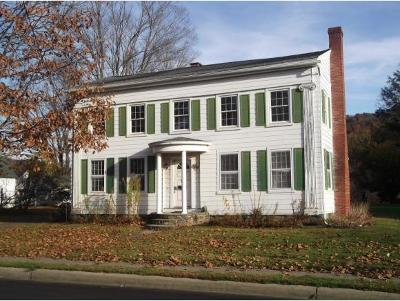 Deposit NY Single Family Home For Sale: $139,900