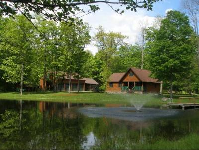 Single Family Home For Sale: 396 Oquaga Lake Road