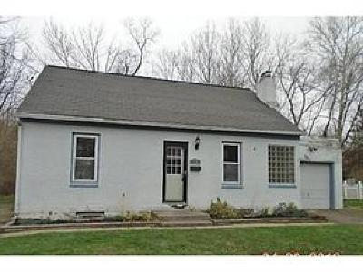 Single Family Home For Sale: 837 Circle Dr
