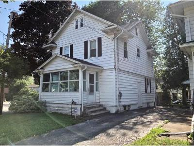 Binghamton NY Single Family Home For Sale: $59,900