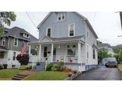 Binghamton NY Single Family Home For Sale: $114,850