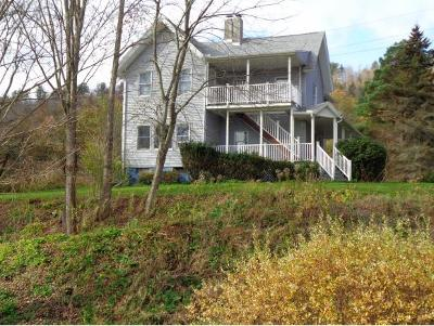 Broome County, Cayuga County, Chenango County, Cortland County, Delaware County, Tioga County, Tompkins County Single Family Home For Sale: 2117 Route 7
