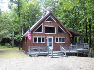 Single Family Home For Sale: 631 Creek Rd