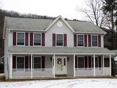 Broome County, Chenango County, Cortland County, Tioga County, Tompkins County Single Family Home For Sale: 601 Old Front
