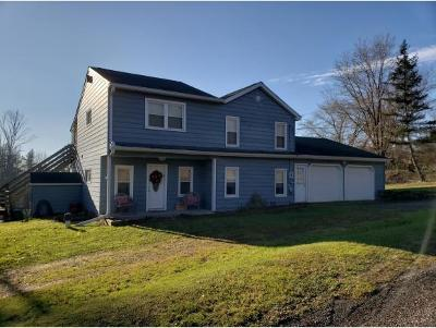 Broome County, Cayuga County, Chenango County, Cortland County, Delaware County, Tioga County, Tompkins County Single Family Home For Sale: 307 Swartlick Road