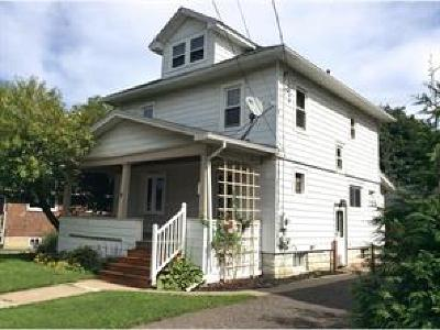 Binghamton NY Single Family Home For Sale: $96,500