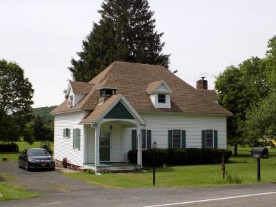 Whitney Point Single Family Home For Sale: 3666 Nys Route 206