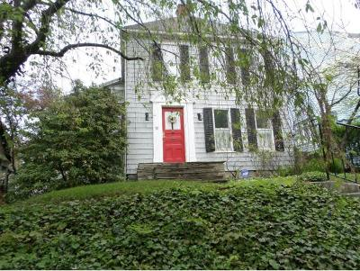 Broome County, Cayuga County, Chenango County, Cortland County, Delaware County, Tioga County, Tompkins County Single Family Home For Sale: 78 Riverside Drive