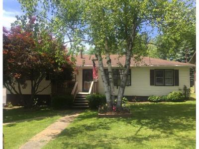Endicott NY Single Family Home For Sale: $114,900