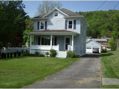 Binghamton NY Single Family Home For Sale: $129,000