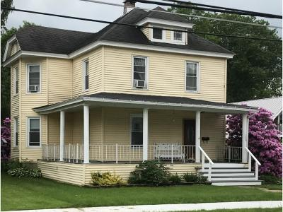 Deposit Single Family Home For Sale: 156 Second Street