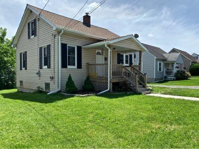 Endicott NY Single Family Home For Sale: $74,900