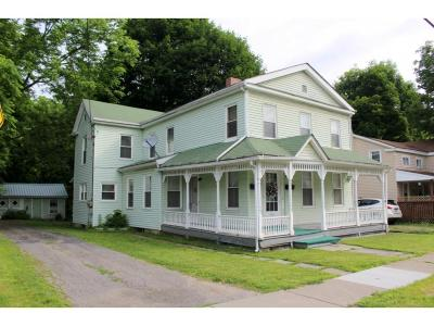 Owego Multi Family Home For Sale: 191 Temple Street
