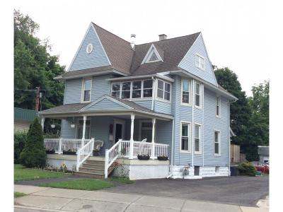 Broome County, Cayuga County, Chenango County, Cortland County, Delaware County, Tioga County, Tompkins County Single Family Home For Sale: 25 Floral Avenue