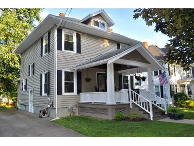 Broome County, Cayuga County, Chenango County, Cortland County, Delaware County, Tioga County, Tompkins County Single Family Home For Sale: 26 Laurel Ave