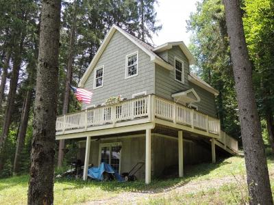 Deposit Single Family Home For Sale: Columbia Lake Rd