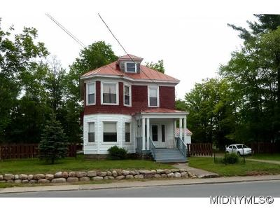 Old Forge Multi Family Home For Sale: 106 Crosby Blvd.