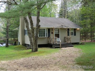Kayuta Lake NY Single Family Home Sold: $159,000
