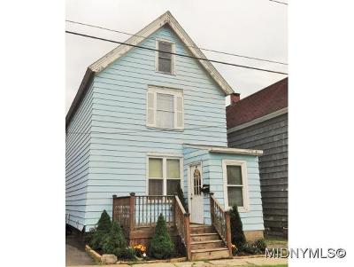 Herkimer County Single Family Home For Sale: 7 Sherman Street
