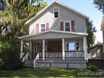 Rome NY Single Family Home Sold: $70,000