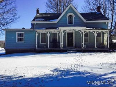 New Hartford Single Family Home For Sale: 9289 Sessions Road