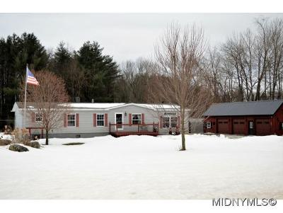 Holland Patent NY Single Family Home Sold: $135,000