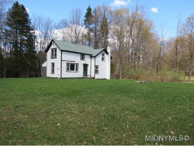 Remsen NY Single Family Home Sold: $150,000