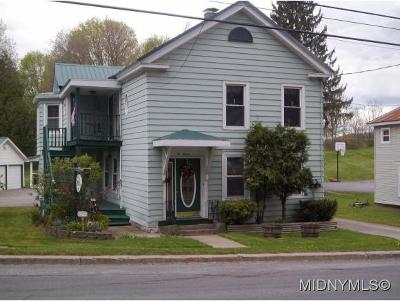 Boonville NY Single Family Home Sold: $140,000