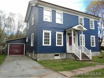 Boonville NY Single Family Home For Sale: $149,900