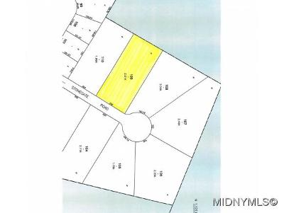 New Hartford Residential Lots & Land For Sale: Stonegate Road
