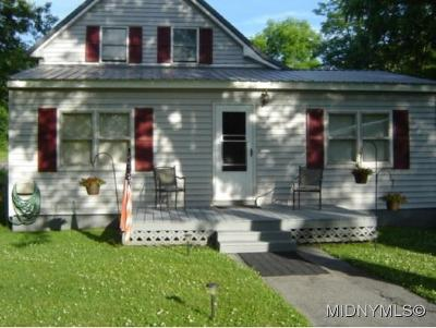 Single Family Home For Sale: 6241 State Route 291