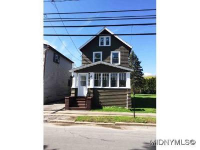 Oriskany Single Family Home For Sale: 617 Utica Street