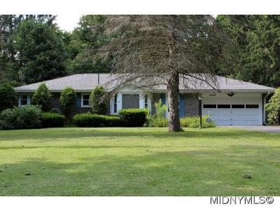 Single Family Home For Sale: 6109 Sleepy Hollow Road