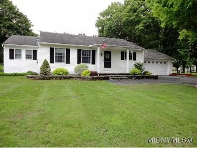 BARNEVELD Single Family Home For Sale: 8091 State Route 12