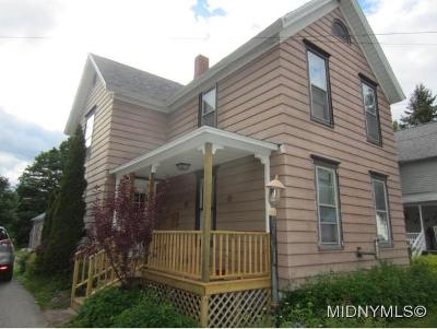 WEST WINFIELD Single Family Home For Sale: 421 Church St
