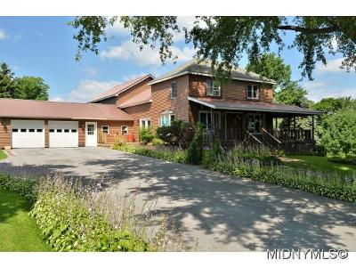 Boonville Single Family Home For Sale: 8411 Jackson Hill Rd.
