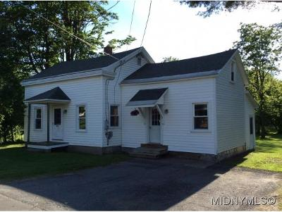 Westmoreland NY Single Family Home For Sale: $74,900