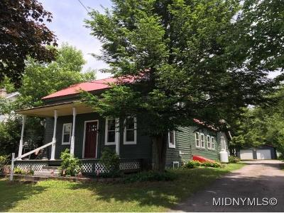 Herkimer County Single Family Home For Sale: 7534 Main St