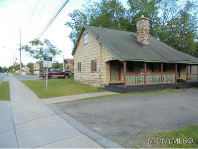 Old Forge Single Family Home For Sale: 3176 State Rt. 28